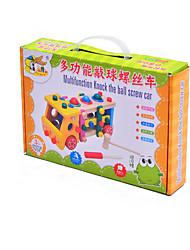 baratos -Blocos de Construir para presente Blocos de Construir Hobbies de Lazer Ônibus Madeira 2 a 4 Anos 5 a 7 Anos 8 a 13 Anos Brinquedos
