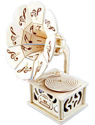 Недорогие -музыкальная шкатулка Дерево Квадратный Castle in the Sky Подарок Универсальные Подарок