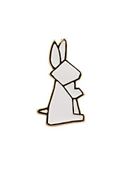 cheap -Women's Brooches Jewelry Unique Design Fashion Adorable Euramerican Enamel Alloy Animal Shape Jewelry For Wedding Party Special Occasion