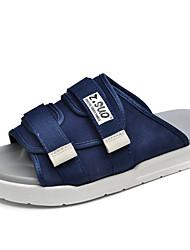 preiswerte -Herrn Schuhe Leinwand Frühling Sommer Herbst Komfort Slippers & Flip-Flops Wasser-Schuhe für Normal Kleid Draussen Büro & Karriere