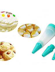 cheap -3Pcs  Cake Pen Dessert Decorating Syringe Cylinder Silicone Writing Paint Pens Pastry Icing Cream Chocolate Cookie Bakeware Cake Tools