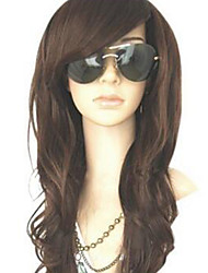cheap -MelodySusie Curly Heat Resistant Wig Women Long Wave Wig with Free Wig Cap