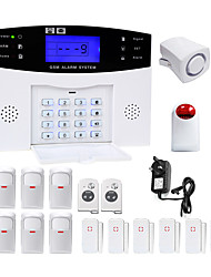Danmini lcd wirless gsm / pstn home office ufficio sistema di allarme antifurto intruso