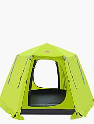 economico -CAMEL 3-4 persone Tenda Doppio Tenda da campeggio Una camera Tenda ripiegabile per Campeggio Viaggi CM