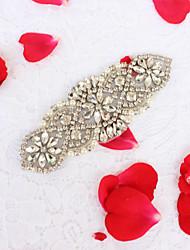 Lega Matrimonio Party/serata Da giorno Fusciacca-Con perline Diamantini Perle finte Con perline Diamantini Perle finte