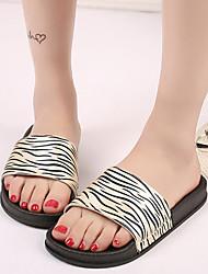 Women's Sandals Slipper Flip-flops Split Joint Print  Leopard Spring  Casual Beach Summer Club Shoes Comfort Dress Casual Flat Heel