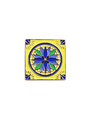 cheap -Women's Brooches Unique Design Square Bohemian Enamel Alloy Square Jewelry For Wedding Party Special Occasion Daily Casual