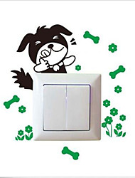 New Cartoon Various Light Switch Socket Wall Stickers Decor Decals Mural Room