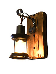 cheap -Rustic/Lodge Traditional/Classic LED Wall Lights For Wood/Bamboo Wall Light 110-120V 220-240V 4W