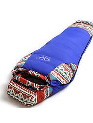Недорогие -Спальный мешок Кокон Односпальный комплект (Ш 150 x Д 200 см) -15 Утиный пухX78 Походы Путешествия На открытом воздухе