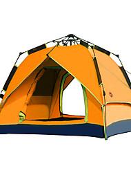 CAMEL 3-4 persone Tenda Doppio Tenda da campeggio Una camera Tenda automatica per Campeggio Viaggi CM
