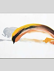Dipinta a mano Astratto Composizione orizzontale Panoramica,Modern Classico Un Pannello Tela Hang-Dipinto ad olio For Decorazioni per la