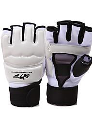 cheap -for Taekwondo Boxing Fingerless Gloves Protective Sponge PU