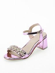 Women's Sandals Summer Fall Comfort Light Soles PU Leatherette Outdoor Office & Career Party & Evening Dress Casual Flat Heel Tassel