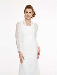 cheap -Lace Wedding Party / Evening Women's Wrap With Lace Coats / Jackets