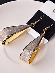 cheap -Earring Drop Earrings Jewelry Women Wedding / Party / Daily / Casual Alloy 2pcs Gold / Silver
