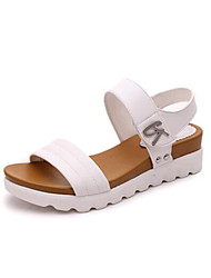 economico -Da donna-Sandali-Tempo libero Ufficio e lavoro Casual-Innovativo Club Shoes-Basso Zeppa-PU (Poliuretano)-