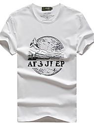 Homme Tee-shirt de Randonnée Respirable Tee-shirt Hauts/Top pour Pêche Eté L XL XXL XXXL XXXXL
