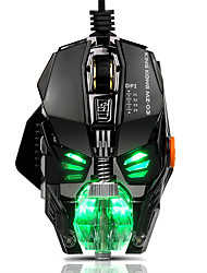 cheap -Wired RGB LED Backlit Breath 4000DPI  8 Buttons Gaming Mouse Mice Metal USB Ergonomic Optical Gamer Mouse Laptop Computer