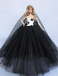 Fête / Soirée Robes Pour Poupée Barbie Pour Fille de Jouets DIY