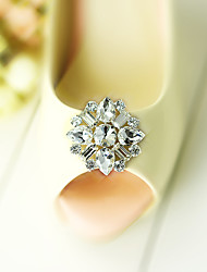 cheap -Plastic Decorative Accent with Diamond for Shoes
