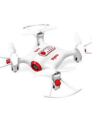 RC Drone X20 4CH 6 Eixos 2.4G - Quadcópero com CR Iluminação De LED Auto-Decolagem Modo Espelho Inteligente Vôo Invertido 360° Flutuar