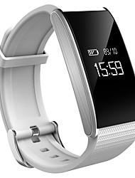 cheap -Heart Rate Blood Oxygen Health Bracelet Intelligent Monitoring Blood Pressure Waterproof Step Gauge Phone SMS Alerts Smart  Bracelet