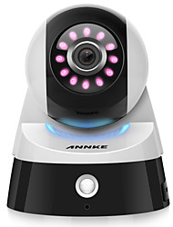 economico -Annke® 2.0m 1080p hd mini smart telecamera di sicurezza wifi con ir-cut 64 (rilevazione di movimento notturna) 2 way audio