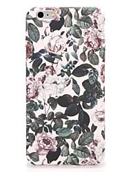 Til Apple iPhone 7 7plus Cover Mønster Bag Cover Case Flower Hard PC 6s plus 6 plus 6s 6