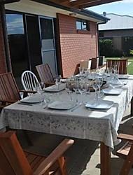 Rettangolare Cucito Tovaglie , Lino MaterialeCena Decor Favor Decorazione casa Hotel Dining Table Wedding Party Decoration Cena banchetto