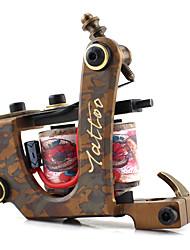 Индукционная тату-машинка литье Оттенок Медь Профессиональная машина для татуировки