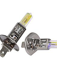 Gmy® halogène éclairage de voiture auto ampoule h1 golden série 24v 70w phare antibrouillard 2pcs