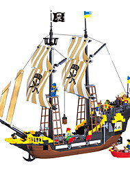 cheap -ENLIGHTEN Building Blocks / Model Building Kit 590 pcs Pirate Ship / Pirates Gift