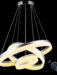 baratos -Luzes Pingente Luz Ambiente Acabamentos Pintados Metal Acrílico Regulável, LED, Dimmable Com Controle Remoto 110-120V / 220-240V Dimmable Com Controle Remoto Lâmpada Incluída / Led Integrado