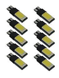 Lampada w5w 6000k della luce di larghezza della tazza di 10pcs t10 dc9-12v della luce interna dell'automobile di canbus