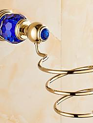 Mensola del bagno / Oro Acciaio inossidabile /Contemporaneo