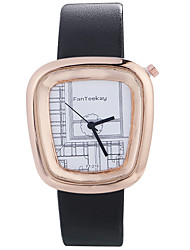cheap -Women luxury Brand Fashion Square Casual Quartz Unique Stylish Watches Small Female Leather Watch Wrist