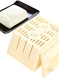 cheap -1Pcs   DIY Homemade Tofu   Mold Box Plastic Soybean Curd Making Machine Kitchen Cooking Tools
