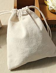 25 Titulaire de Faveur-Rectangulaire Coton Sacoches à cadeaux
