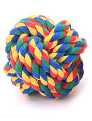 cheap -Cat Toy Dog Toy Pet Toys Ball Woven Textile For Pets