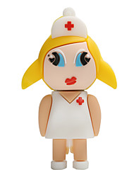 Hot New Cartoon Female Nurse USB2.0 8GB Flash Drive U Disk Memory Stick