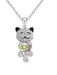 Women's Pendant Necklaces Jewelry Jewelry Synthetic Gemstones Alloy Unique Design Cute Style Jewelry For Party Gift Daily Casual