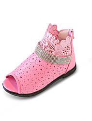 Para Meninas Sandálias Conforto Sapatos para Daminhas de Honra Buraco Shoes Couro Ecológico Primavera Verão Casual Social Festas & Noite
