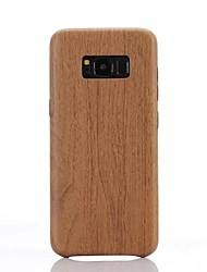 For Samsung Galaxy S8 S8 Plus S7 S7 edge Case Cover Imitation Wood Grain Pattern PU Material Soft Case Phone Case