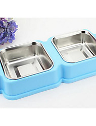 cheap -Dog Feeders Pet Bowls & Feeding Blushing Pink Blue