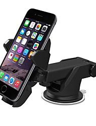 ZIQIAO Car Mount Bracket Holder Stand 360 Degrees Rotation Universal Cars Windshield Long Arm Smartphone Cars Holder