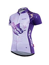 Malciklo Maglia da ciclismo Per donna Bicicletta Maglietta/Maglia Set di vestiti Top Poliestere Coolmax 100% poliestere Terital