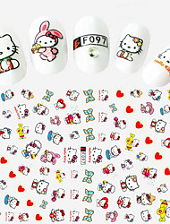 cheap -1 3D Nail Stickers Fashion Daily High Quality