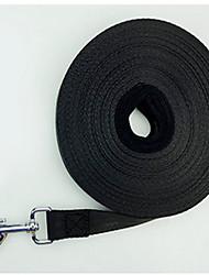 abordables -Perro Correas Ajustable / Retractable Un Color Nailon Azul Oscuro Negro