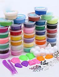 Недорогие -Мастики Играть в тесто, пластилин и шпатлевка Художественный Своими руками Игрушки пластик